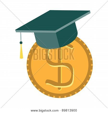 Scholarship Concept - Savings For Higher Educatio