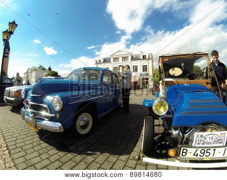 SOCHACZEW, POLAND - JUNE 23, 2014: The festival
