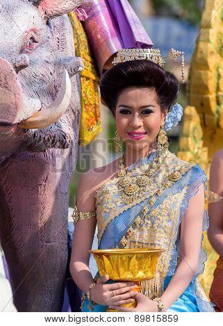 Songkran Festival Parade