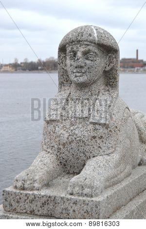 Stone Sphinx.