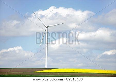 One Wind Turbine