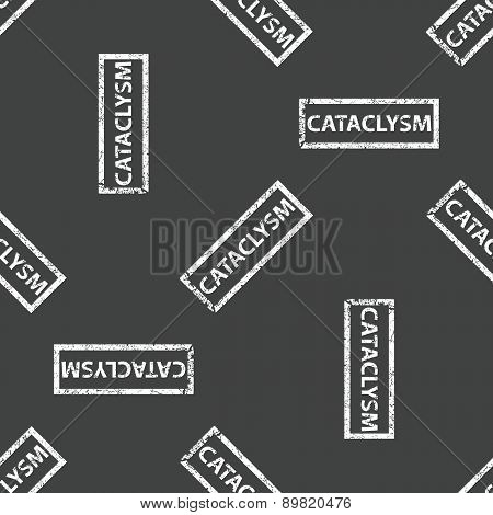 Rubber stamp CATACLYSM pattern