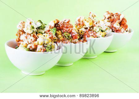 Colored Pop Corn