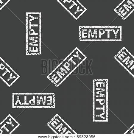 Rubber stamp EMPTY pattern