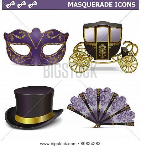 Vector Masquerade Icons