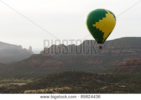 Hot Air Balloon Ride In Sedona