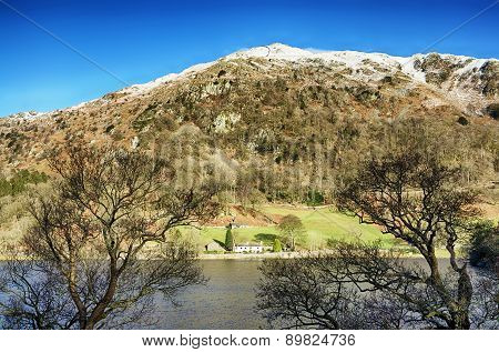 Rydal Water and Nab Scar