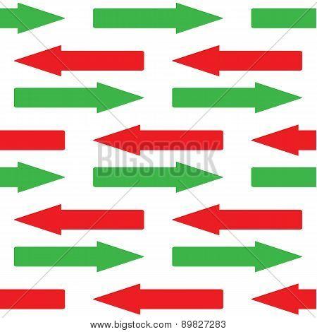Straight arrows pattern