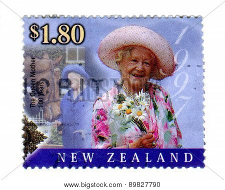 Commemorative Queen Mother Stamp