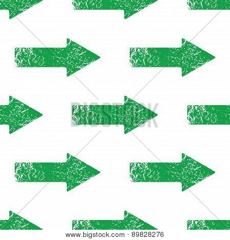 Green right arrow pattern