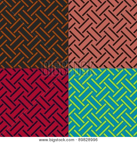 Seamless Patterns From Stripes