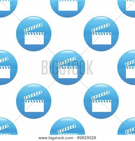 Clapperboard sign pattern