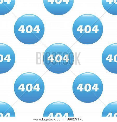 404 sign pattern