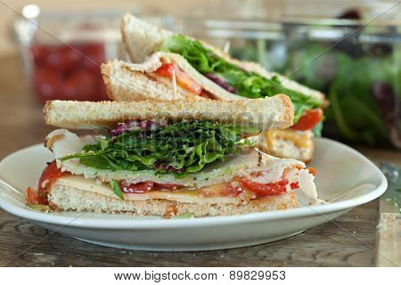 Turkey Sandwich Halves