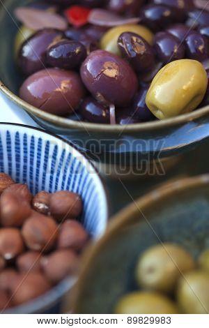 Olive And Hazelnuts