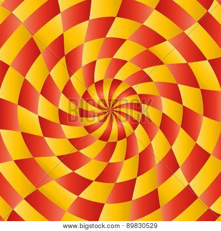 Colorful abstract radial background