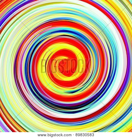 Abstract colorful swirling background