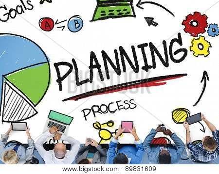 Planning Strategy Search Goals Mission Connect Process Concept