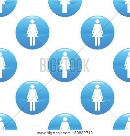 Woman sign pattern