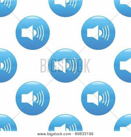 Loudspeaker sign pattern