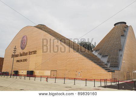 Pavilion Zero At Expo 2015 In Milan, Italy