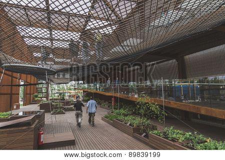 Brazil Pavilion At Expo 2015 In Milan, Italy
