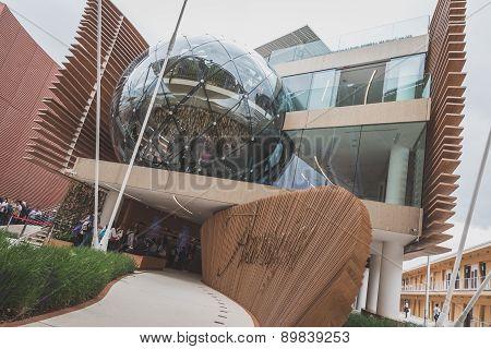 Azerbaijan Pavilion At Expo 2015 In Milan, Italy