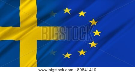 European Union And Sweden.