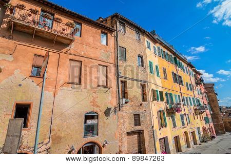 Street View In Siena, Italy