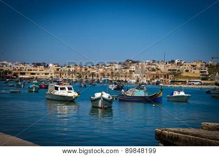 Boat In La Valletta Malta