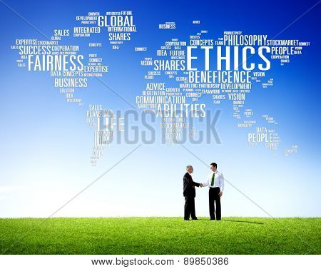 Ethics Ideals Principles Morals Standards Social Rules Concept