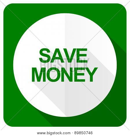 save money flat icon