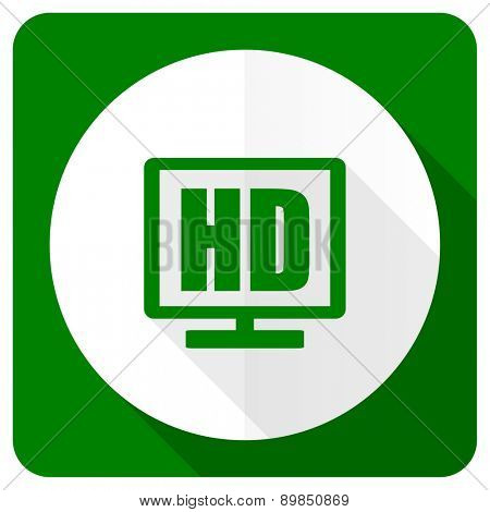 hd display flat icon
