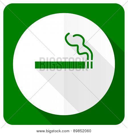 cigarette flat icon nicotine sign