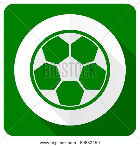 soccer flat icon football sign