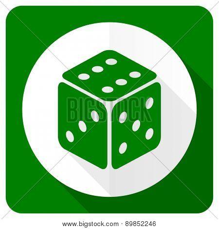 casino flat icon hazard sign