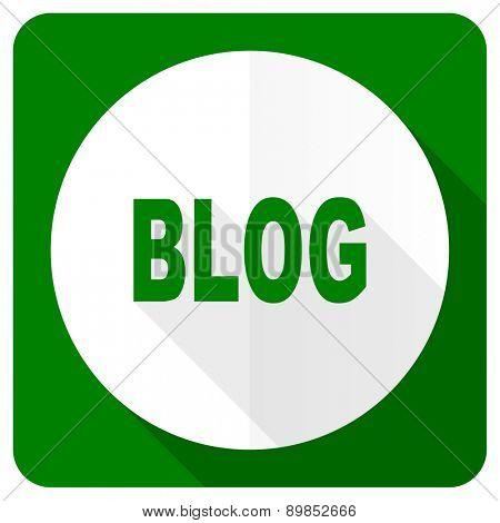 blog flat icon