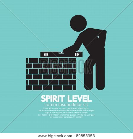 Spirit Level Engineering Measuring Equipment.