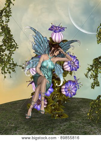Fairy In The Garden