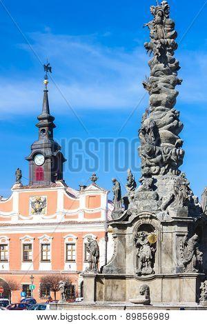 Ressel's Square, Chrudim, Czech Republic