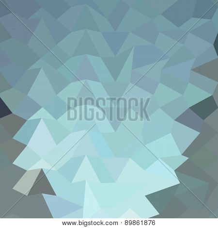 Cambridge Blue Abstract Low Polygon Background