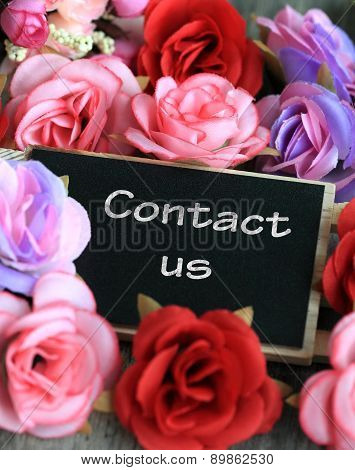 contact us sign