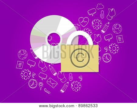 copyright protection digital secure data