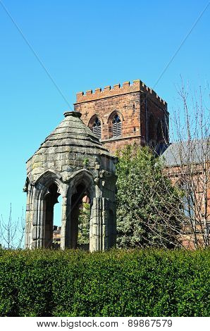 Old Refectory Pulpit, Shrewsbury.