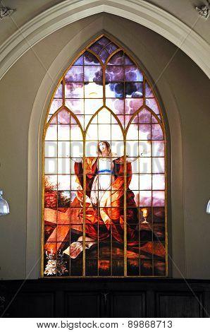 Stained Glass Window, Shrewsbury.