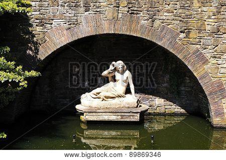 Sabrina statue, Shrewsbury.