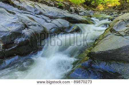 River In Hirkan National Park In Lankaran Azerbaijan