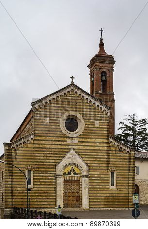 Church Santa Agnese Di Montepulciano, Italy