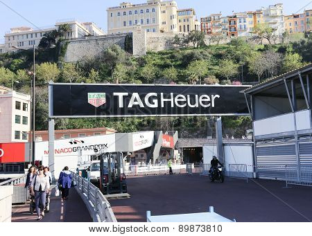 Tag Heuer Ad For The Monaco Grand Prix 2015