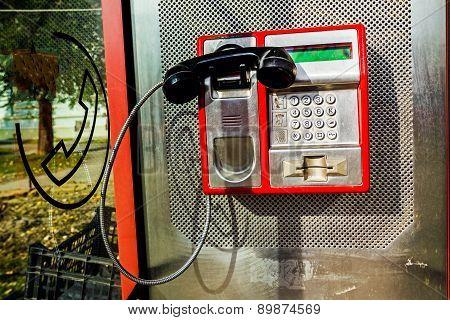 Public Telephone Box